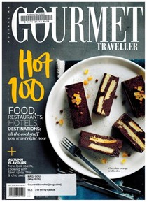 Australian Gourmet Traveller Magazine, May 2015