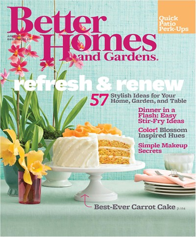 Better homes and gardens magazine april 2013 eat your books for Better homes and garden magazine