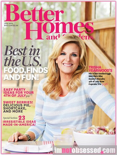 Better Homes And Gardens Magazine July 2013 Eat Your Books