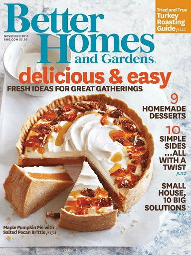 from better homes and gardens magazine november 2013 better homes and