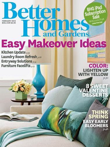 Better Homes And Gardens Magazine February 2014 Eat