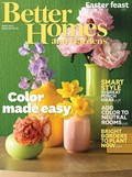 Better Homes and Gardens Magazine, April 2014