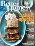 Better Homes and Gardens Magazine, November 2014