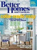 Better Homes and Gardens Magazine, March 2015