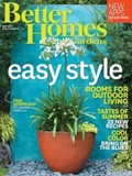 Better Homes and Gardens Magazine, May 2015