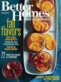 Better Homes and Gardens Magazine, November 2015