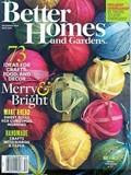 Better Homes and Gardens Magazine, December 2015