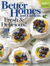 Better Homes and Gardens Magazine, May 2016