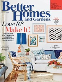 Better Homes and Gardens Magazine, July 2016
