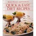 Better Homes and Gardens Quick & Easy Diet Recipes