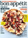 Bon Apptit Magazine, January 2012