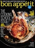 Bon Appétit Magazine, January 2013: The Cooking School Issue