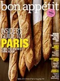 Bon Apptit Magazine, May 2012: The Travel Issue: Insider&#39;s Guide to Paris