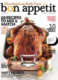 Bon Appétit Magazine, November 2009