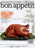 Bon Appétit Magazine, November 2011: Thanksgiving Special