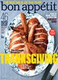 Bon Apptit Magazine, November 2012