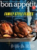 Bon Apptit Magazine, October 2012: The Home Entertaining Issue