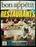 Bon Appétit Magazine, September 2013: The Restaurant Issue