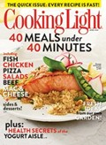 Cooking Light Magazine, April 2013: The Quick Issue
