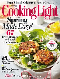 Cooking Light Magazine, April 2016