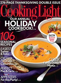 Ann Pittman Executive Food Editor, Cooking Light Magazine U2013 Special  Thanksgiving Double Issue