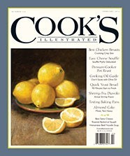 Cook's Illustrated Magazine, Jan/Feb 2014