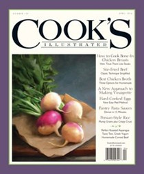 Cook's Illustrated Magazine, Mar/Apr 2016