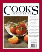 Cook's Illustrated Magazine, Nov/Dec 2012