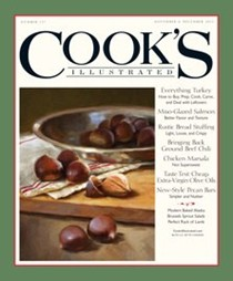 Cook's Illustrated Magazine, Nov/Dec 2015