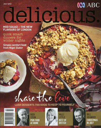 Delicious Magazine (Aus), July 2012