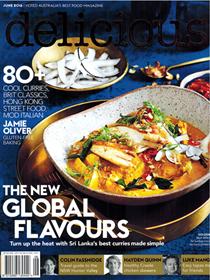 Delicious Magazine (Aus), June 2016 (#160): Global Issue