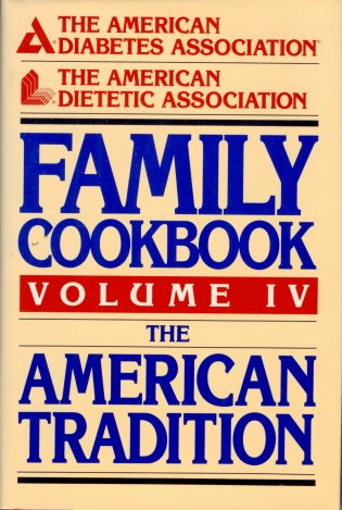 Family Cookbook Vol IV