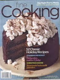 Fine Cooking Magazine, Dec 2009/Jan 2010