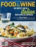 Food &amp; Wine Magazine, April 2013