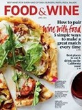 Food & Wine Magazine, April 2014