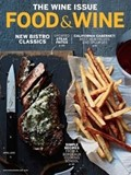 Food & Wine Magazine, April 2015: The Wine Issue