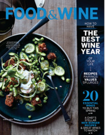 Food & Wine Magazine, April 2016