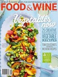 Food & Wine Magazine, August 2013