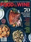 Food & Wine Magazine, December 2012