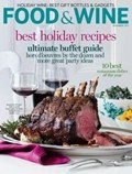 Food & Wine Magazine, December 2013