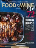 Food & Wine Magazine, December 2014