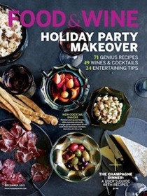 Food & Wine Magazine, December 2015