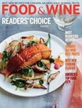 Food & Wine Magazine, January 2014: The Readers'  Choice Issue