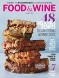 Food & Wine Magazine, January 2015