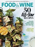 Food & Wine Magazine, March 2014