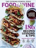Food & Wine Magazine, March 2015: The Cooking School Issue