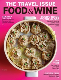 Food & Wine Magazine, May 2016: The Travel Issue