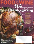 Food & Wine Magazine, November 2013