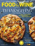 Food & Wine Magazine, November 2014