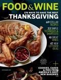 Food & Wine Magazine, November 2015